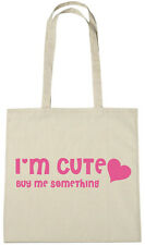 I'm Cute Bag, secret santa gifts stocking fillers xmas gift ideas for her women