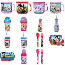 Paw Patrol Cutlery, Cups and Tumblers (Assorted)