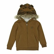 Quiksilver Hoodies - Quiksilver Young Boy Bear Zip Hoody  - Brown