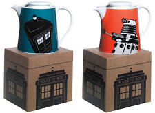 Dr Who / Doctor Who Gres Teiera Dalek / Tardis - & ufficiale BBC