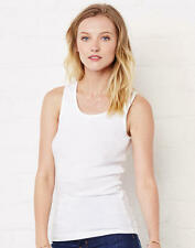 Rib Tank Top a costine BELLA+CANVAS