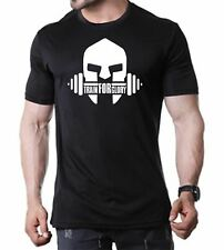 TRAIN FOR GLORY Mens T-Shirt Crossfit Bodybuilding Gym Workout T-Shirt