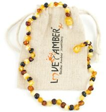 Adult Pebble Beach Polished Mixed Baltic Amber Anklet Love Amber X Ltd Uk Seller