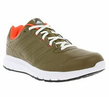 NEW adidas Performance Duramo Trainer Lea Shoes Men's Sneakers Trainers Brown