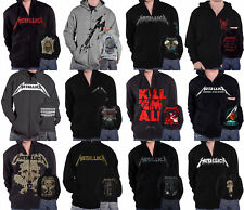 Metallica Hoodie Hardwired  Master Of Puppets  band logo new Official Mens
