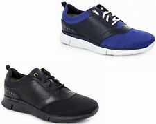 UOMO HUGO BOSS VERDE GYM ARENA NERO BLU SCURO SCARPE SPORTIVE UK 6 12