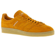 NEW adidas Originals Topanga Shoes Men's Sneakers Trainers Orange Real leather