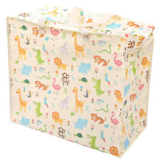 Laundry & Storage Bag with Zoo Design