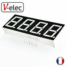 "1106# 0.56"" 7 Segment 4 Digit common anode red LED digital display for Arduino"