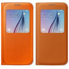 Genuine Samsung S VIEW FLIP CASE Galaxy S6 G920 mobile cell phone cover original