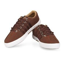 Unistar Brown Coloured Canvas Shoes(5001-Brn)