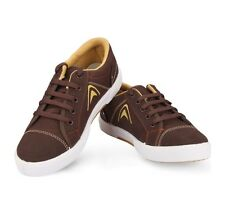 Unistar Brown Coloured Canvas Shoes(5003-Brn)