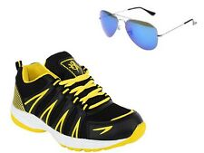 ABZ COMBO OF RUNNING SHOES+BRANDED SUNGLASSES-26