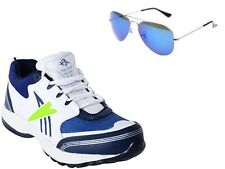 ABZ COMBO OF RUNNING SHOES+BRANDED SUNGLASSES-28