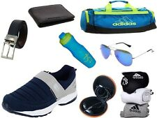 ABZ COMBO OF SHOES+GYM BAG+BELT+WALLET+SUNGLASSES+SOCKS+EARPHONES+SIPPERS-33