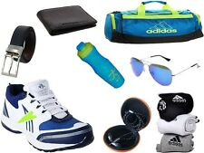 ABZ COMBO OF SHOES+GYM BAG+BELT+WALLET+SUNGLASSES+SOCKS+EARPHONES+SIPPERS-27