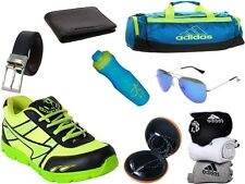 ABZ COMBO OF SHOES+GYM BAG+BELT+WALLET+SUNGLASSES+SOCKS+EARPHONES+SIPPERS-15