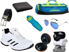 ABZ COMBO OF SHOES+GYM BAG+BELT+WALLET+SUNGLASSES+SOCKS+EARPHONES+SIPPERS-31
