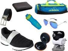 ABZ COMBO OF SHOES+GYM BAG+BELT+WALLET+SUNGLASSES+SOCKS+EARPHONES+SIPPERS-34