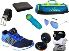 ABZ COMBO OF SHOES+GYM BAG+BELT+WALLET+SUNGLASSES+SOCKS+EARPHONES+SIPPERS-18
