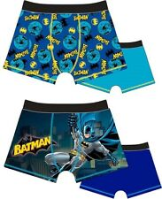 2 Pack Boys Batman DC Classic Boxer Shorts Boxers 2-3 3-4-5 5-6 7-8 9 Years