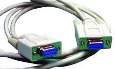 Cable Assemblies - Audio & Video - ASYNC NULL MODEM CABLE C588