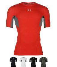 PALESTRA Under Armour HeatGear CoolSwitch Short Sleeve T Shirt Mens Black