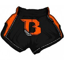 Booster Muay Thai Shorts, Pro2, schwarz-orange, Short, Kickboxing, MMA