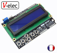 1162# LCD Keypad Shield LCD1602 LCD 1602 Module Display For Arduino ATMEGA328