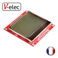1164# Module Blue backlight LCD adapter PCB for Nokia 5110 for Arduino