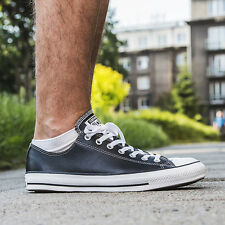 SCARPE UOMO UNISEX SNEAKERS CONVERSE CHUCK TAYLOR ALL STAR LEATHER [132174C]