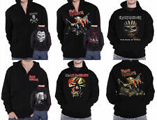 Iron Maiden Hoodie Book Of Souls The Trooper Eddie band logo Official Mens New