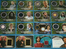 TV Series Autograph/Piecework/Sketch Trading Cards: Stargate SG1,Shanks,Atlantis
