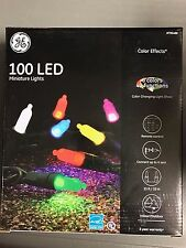GE Color Effects 100-Count 33-ft Multi-Function Color Changing LED Mini