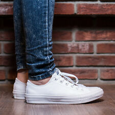 SCARPE DONNA UNISEX SNEAKERS CONVERSE CHUCK TAYLOR ALL STAR II OX [150154C]