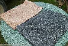 Black Tan Granite Oval Vinyl Fitted Dining Tablecloth Patio Picnic Table Cover