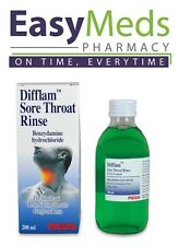 Difflam Sore Throat Oral Rinse 200ml Sore Throat Pain Inflammation