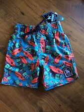 BNWT- Mambo COOL CUCUMBER Boys Bathers Swimming Board Shorts Size 4, 5, or 6