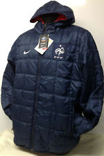 NIKE FRANCE Football Réversible BENCH MANTEAU VESTES Marine / Rouge taille M