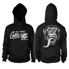 GAS MONKEY GARAGE felpa cappuccio hooded sweat-shirt officially licensed