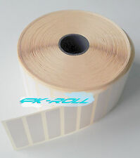 Thermal Direct White Sticky Labels 50X12mm 2X1inch Zebra &More Qty1800 3600 5400