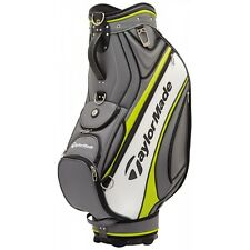 NEW 2017 TAYLORMADE TOUR STAFF PLAYERS BAG GREY/LIME
