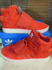 Adidas Originals Tubular Invader Strap Hi Top Trainers BB5039 Sneakers Shoes
