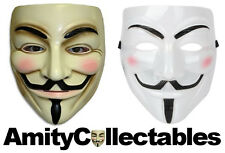 ANONYMOUS / GUY FAWKES (V for Vendetta) Mask | Fancy Dress, Halloween, Carnival