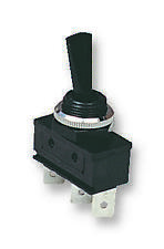 SWITCH BLACK TOGGLE SPDT CTR OFF Switches Toggle - JD85874