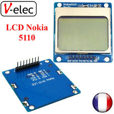 1274# Nokia 5110 84*48 Blue Backlight LCD Module for MCU Adapter PCB for Arduino