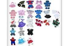 """Teddy Bear Clothes Outfits to fit 8"""" 20cm build a bear and bear factory teddies"""