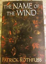 Name of the Wind-Patrick Rothfuss 1st Edition/Printing 2007 DAW Hardcover w/DJ