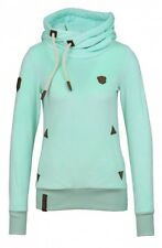 Naketano Damen Kapuzenpullover Darth Mack II Light Green