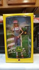 John Deere Barbie Boxed Doll Pink Label 2007 New NRFB Mattel #L4686